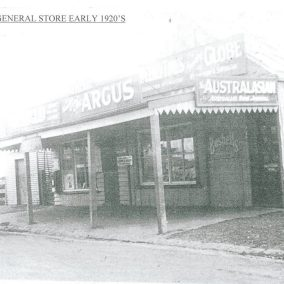 Little River General Store c1920s