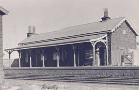 LR station building, date unknown.