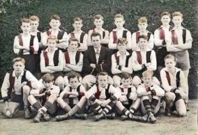 The very last game the LR Football Club played was on August 27, 1966. This photo is of the 1957 under 15 team.